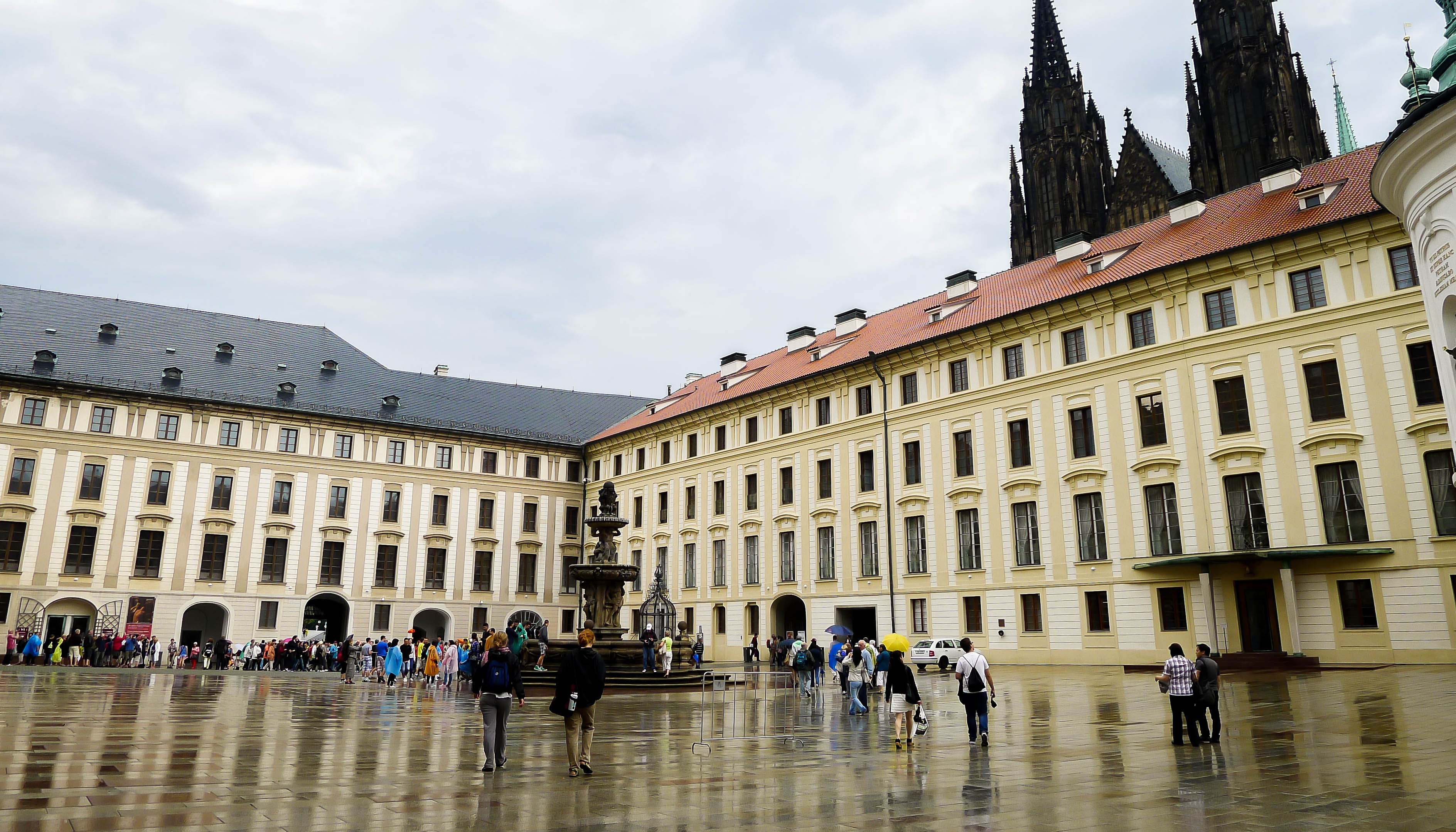Prague Castle Courtyard